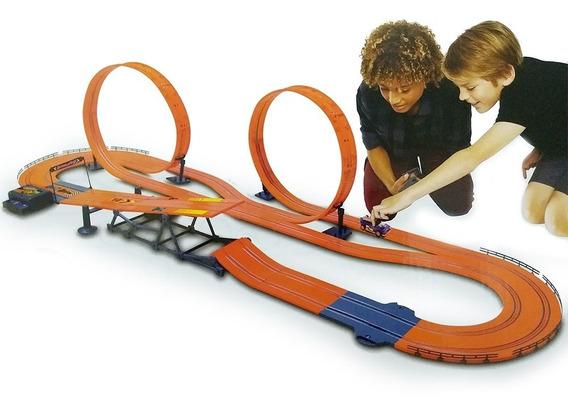 Autorama Pista 760cm Hot Wheels Track Set Zero Gravity Br069