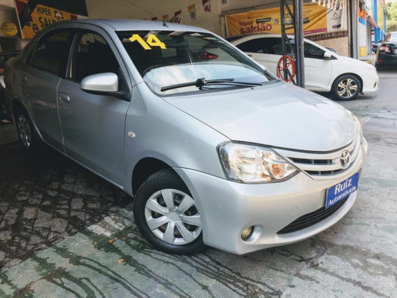 Toyota Etios Sedan 1.5 Xs Flex Metro Vila Prudente Completo