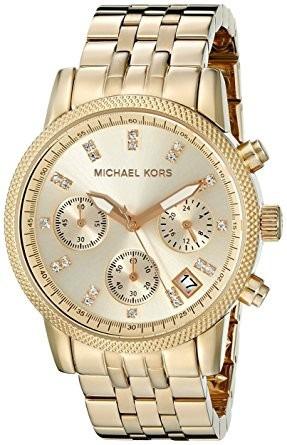 Reloj Ritz Mk5676 Michael Kors Mujer Contra Agua Acero Inox