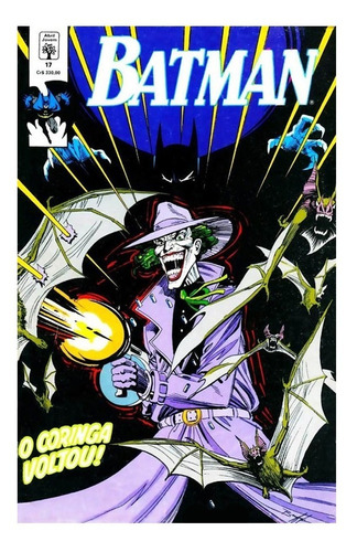 Batman 17 Dc Comics Abril Jovem 1991