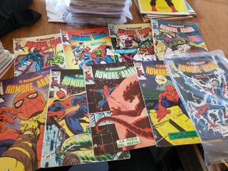 Lote De 103 Revistas Del Hombre Araña, Novedades Spiderman