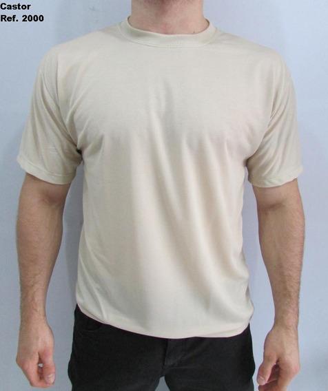 Kit 10 Camiseta Básica Dry Fit Piquet Com Poros Cor Sortidas