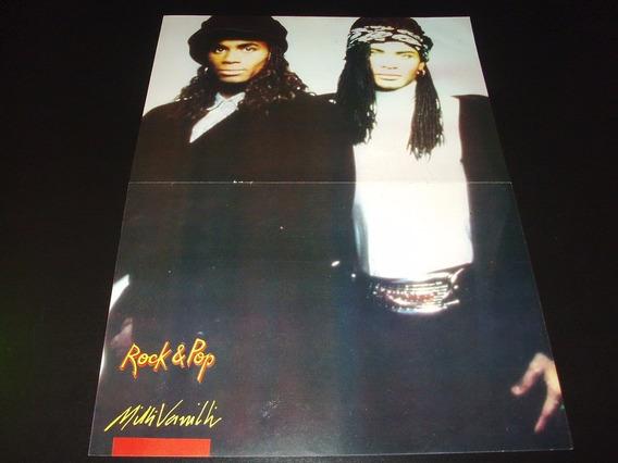 Poster Milli Vanilli * Whitesnake * 2 Paginas (h070)