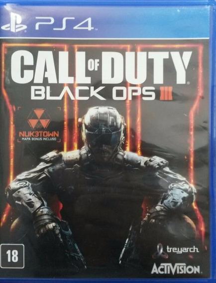 Call Of Duty Black Ops 3 Portugues Ps4 Usado Envio Imediato