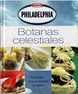 Botanas Celestiales Philadelphia Recteas Cocina Lujo Comida
