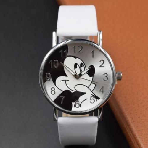 Relógio Disney - Com O Rosto Do Mickey - Branco