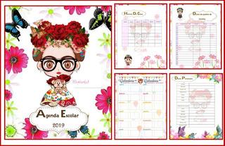 Agenda Escolar Frida Pdf