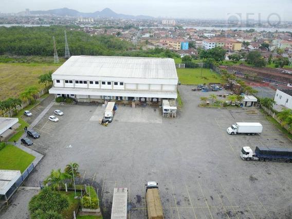 Barracão Industrial Em Cubatão. - Ba0001