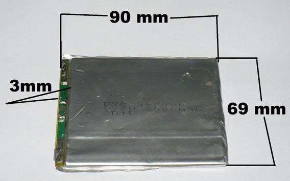 Bateria 3,7v - 3000 Mah Gps, Tablet Brinquedos Ou Adaptações