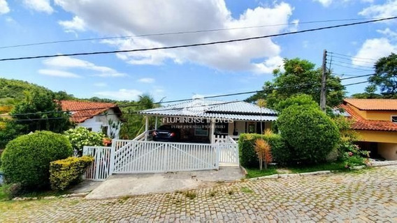 Casa De Condomínio Com 6 Dormitórios À Venda - Muruqui, Niterói/rj - Cav21916