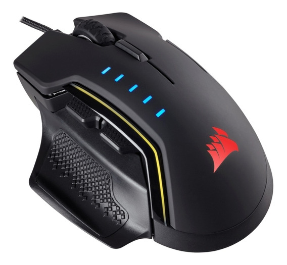 Mouse Gamer Corsair Glaive Rgb 16000dpi Preto Ch-9302011-eu