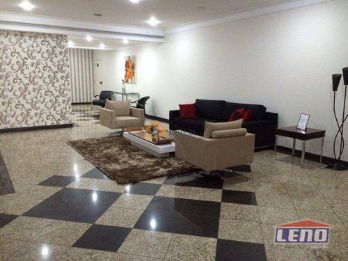 Imagem 1 de 13 de Apartamento Com 3 Dormitórios Para Alugar, 126 M² Por R$ 4.000,00/mês - Vila Regente Feijó - São Paulo/sp - Ap0295