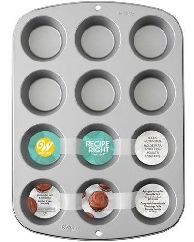 Imagen 1 de 9 de Molde Para Cupcakes Estandar Recipe Right Wilton Titanweb