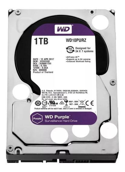 Hd Wd Purple 1tb Western Digital Dvr Cftv