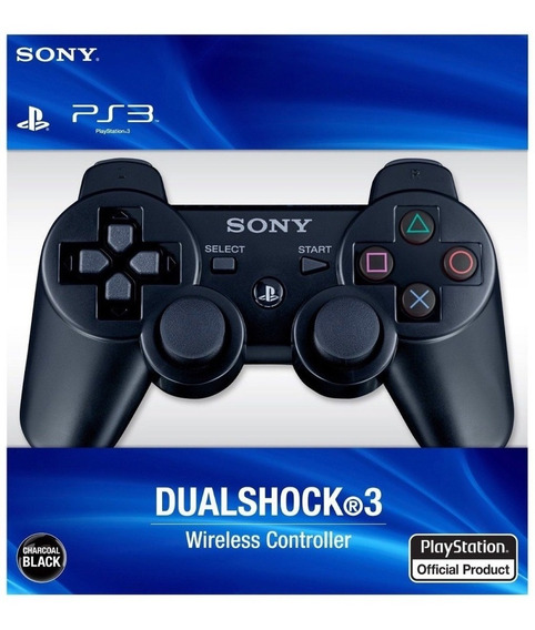 Controle Ps3 Playstation 3 Dualshock Wireless 96% Original
