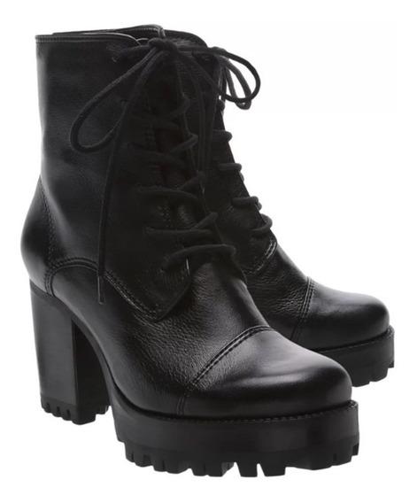 Bota Schutz Combat Boot Tratorada Black