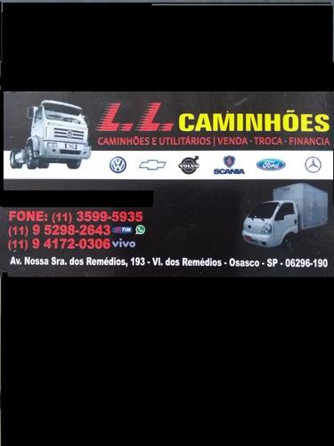 Caminhão Toco Mb 1113 Toco Baú Plataforma