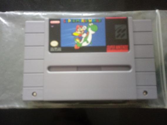 Super Mario World Original Snes Estado De Zero