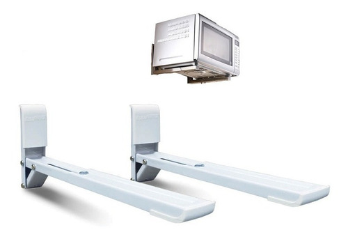 Soporte Brasforma Microondas 3.8 Pared Linea Premium Pronet