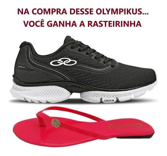 Tênis Feminino Olympikus Spicy Corrida Academia + Brinde