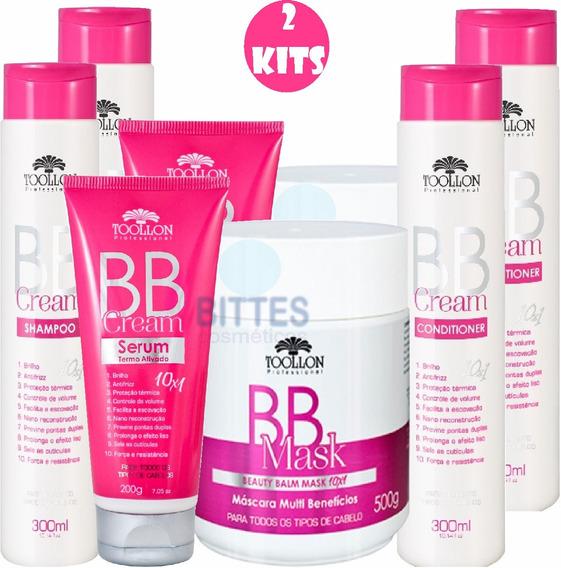 2 Kit Tratamento Bb Cream Toollon Cosméticos Produtos Cabelo