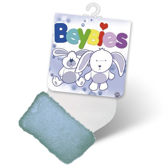 Medias Bebes 0-1 Recien Nacido Azules Beybies