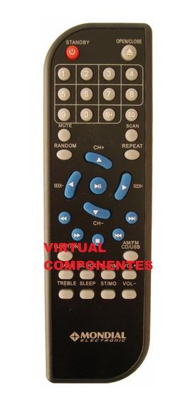 Controle Remoto Mondial Mini System Ms-05 Original