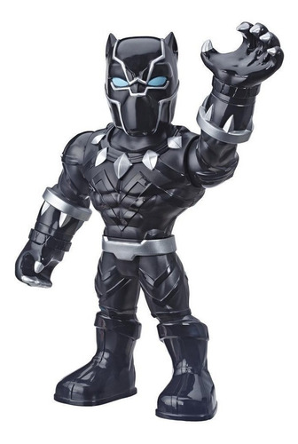 Imagem 1 de 2 de Figura Playskool Super Heroes Mega Mighties Pantera Negra