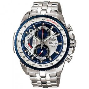 Relógio Casio Ef-558d-2avudf Edífice Masc Branco - Refinado