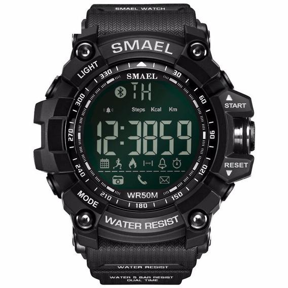 Smael Lujo Marca Inteligente Reloj Negro