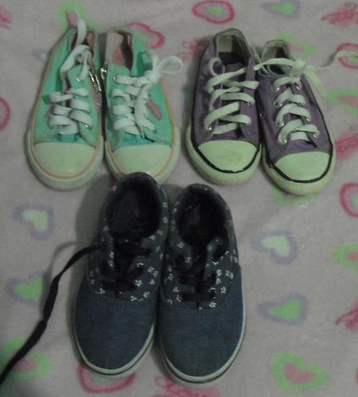 Zapatos Niña Talla 27 Usados