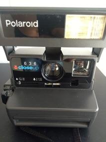 Câmera Fotográfica Polaroid Antiga 636 Close Up