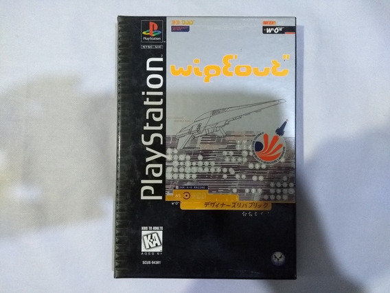 Wipeout Original - Playstation 1 Ps1