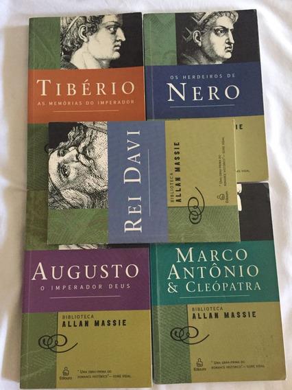 Biblioteca Alan Massie 5 Livros