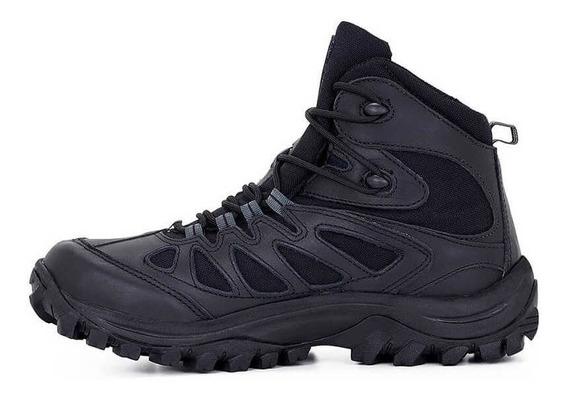 Coturno Bota Tática Militar Airstep 5700 Hiking Boot Black