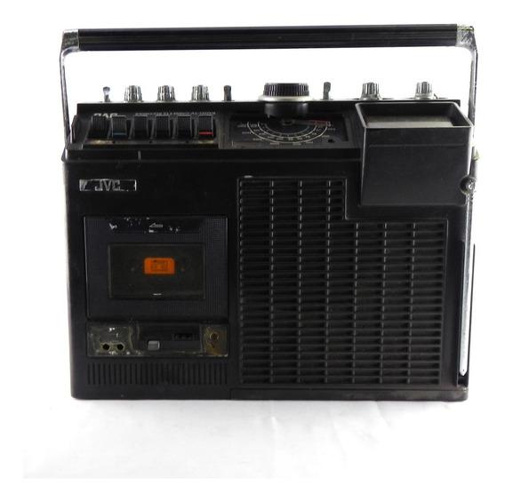 Rádio Portatil C/ Tv Jvc 3070 Usado E Com Defeito