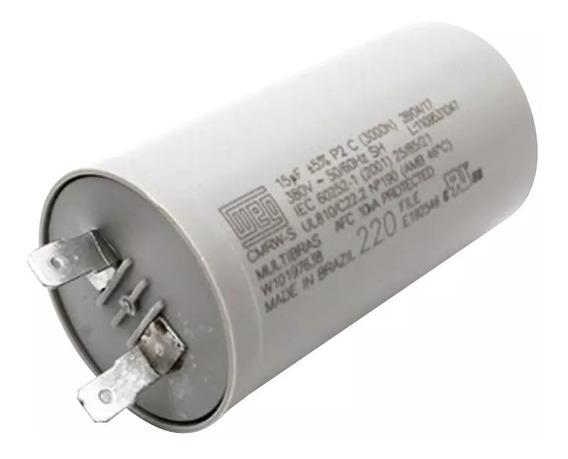 Capacitor 15uf 5% 380v Para Lavadora Original