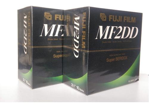 Caja 10 Diskettes Floppy Disk Fujifilm