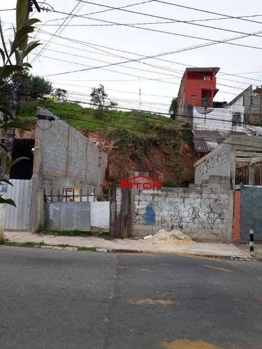 Terreno À Venda, 220 M² Por R$ 204.000,00 - Jardim Nova Poá - Poá/sp - Te0404