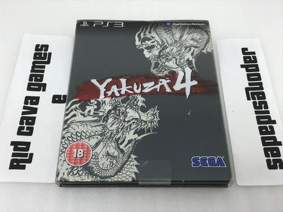 Yakuza 4 Steelbook Limited Edition Ps3