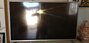 Tv Led Lg 42lb5800 Com Tela Quebrada..