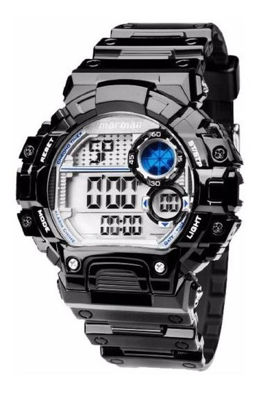 Relogio Mormaii Mo13613a/8p Passômetro Alarm Dual Time Brilh