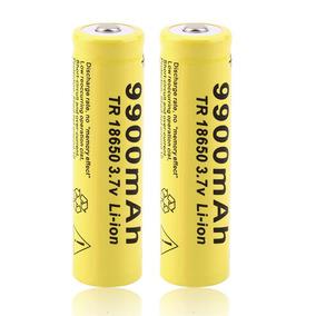 Bateria 18650 Li-ion 9900mah 3.7v Kit C/2 Und.