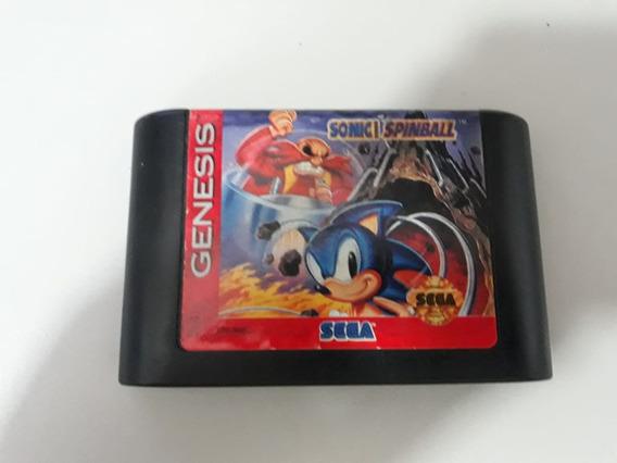 Sonic Spinball Mega Drive Genesis Sega Original