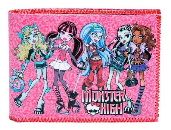 Billetera Tarjetero Diseño Monster High 100% Original