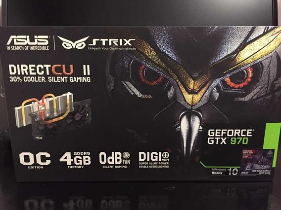 Ge Force Gtx 970 Asus Strix 4gb O.c Edition