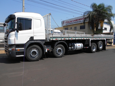 Scania P 310 2012 Bitruck 8x2 Carroceria Itália Caminhões