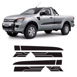 Faixa Lateral Grafite Ranger Cs Sport Xls 14/16 2p