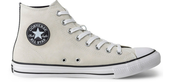Tênis Converse Chuck Taylor All Star Hi Bege Ct11620002