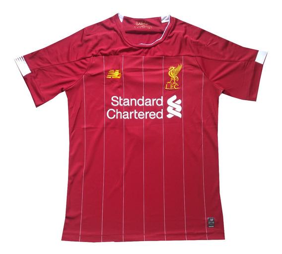 Camisa Masculina Liverpool 2019/2020 Salah - Pronta Entrega